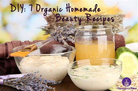 Handmade Cosmetics Recipes - diy 7 organic recipes and