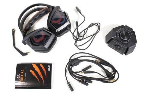 Headset Asus Strix 7 1 test asus strix 7 1 surround gaming headset allround pc