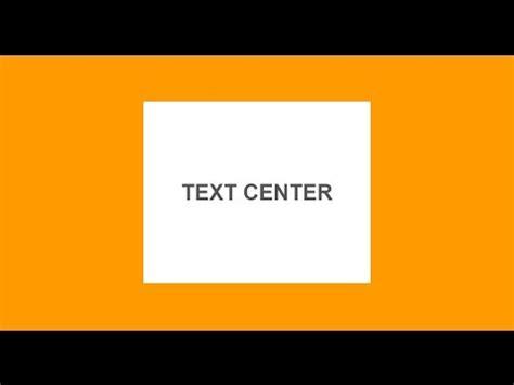 div text text center inside a div block
