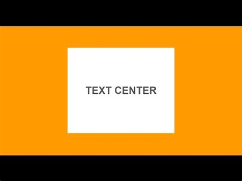 css div inside div text center inside a div block