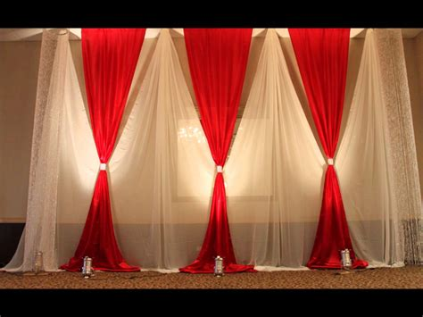 wedding curtains aga wedding and event decor youtube