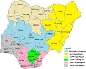 Map Of Nigeria States by Geography Blog Nigeria Maps 36 States And Abuja