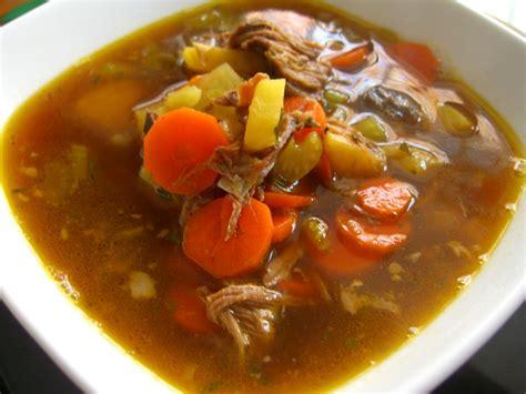 beef brisket vegetable soup recipe