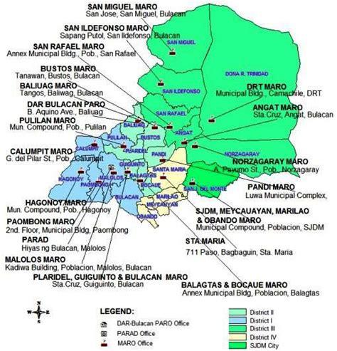san jose monte map bulacan n t c region 3