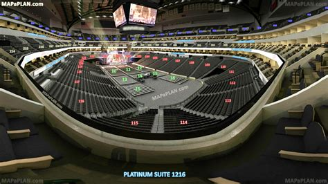 american airlines arena seating chart dallas dallas american airlines center view from platinum suite
