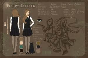 harry potter oc template character sheet poppy butler by littlemisswiseass on