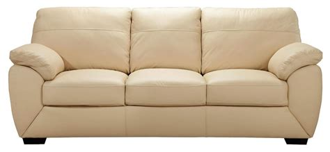ivory sofa bed new alberta 3 seater leather sofa bed ivory ebay