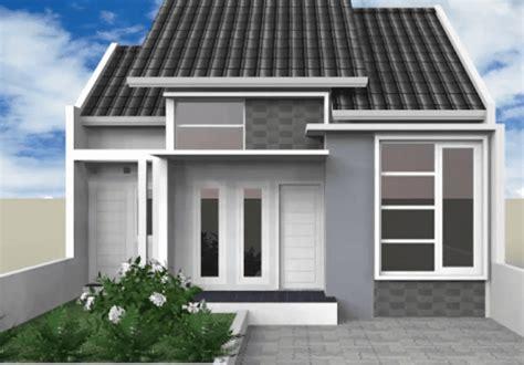 kombinasi warna cat rumah minimalis terbaru bagikan contoh