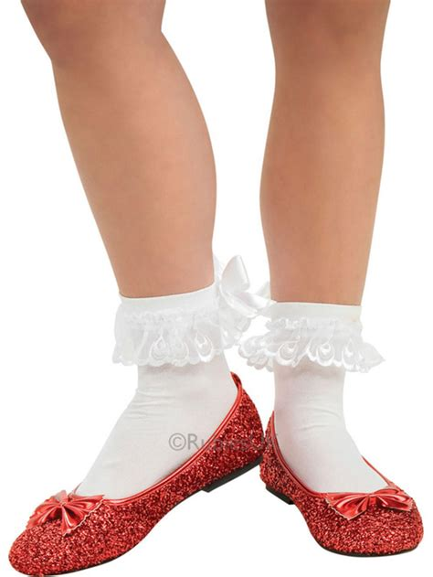 ruby slippers for adults wizard of oz dorothy shoes fancy dress footwear