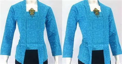Baju Busana Muslim Batik Modern Cs Cp Mega Blue Termurah jual kebaya kartini trend modern terbaru harga murah 2016