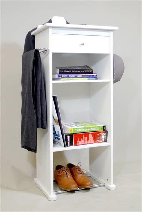 nightstand organizer nightstand valet stand closet storage