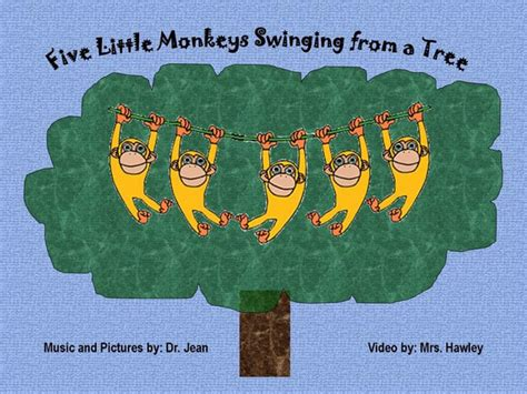 five monkeys swinging from a tree 5 little monkeys swinging from a tree on vimeo