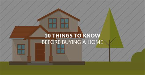 things to know when buying a house 10 things to know before buying your home captain cash