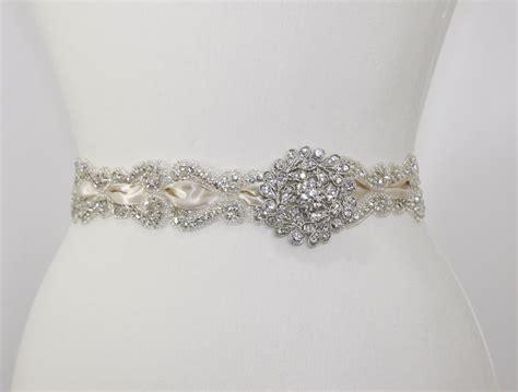 vintage bridal sash wedding sash bridal accessories beaded