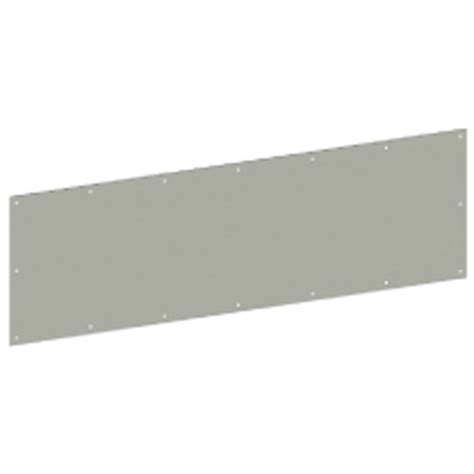 Exterior Door Kick Plate Shop Hager 34 In X 10 In Aged Bronze Entry Door Kick Plate At Lowes
