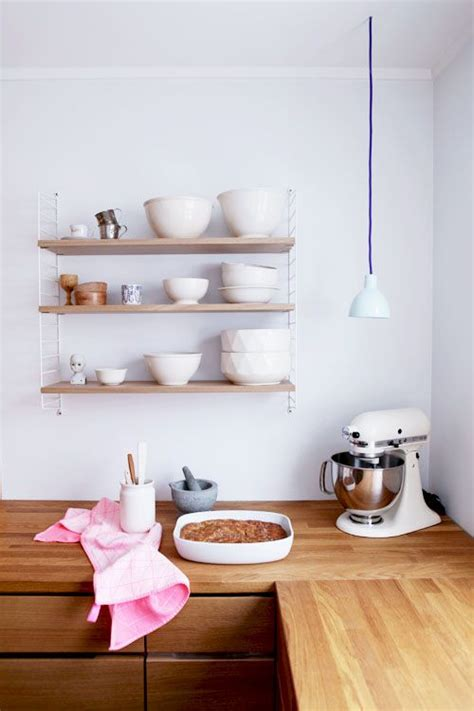 Kitchen String by String Shelving System By Nils Strinning Apartment