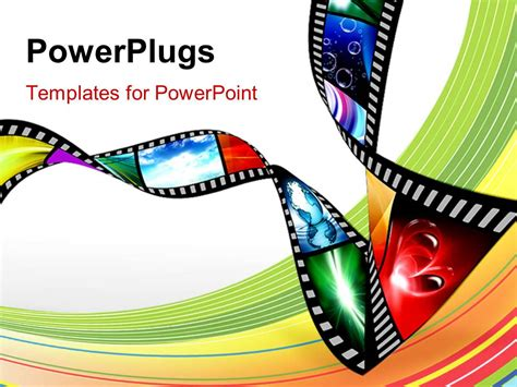 Collection Of Powerpoint Themes Movie Movie Powerpoint Template