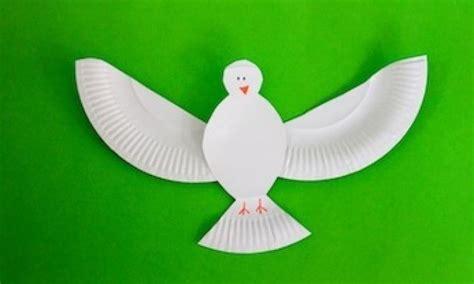 paper plate dove kidspot