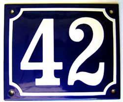 Hausnummer Weiß Metall by Hausnummer De Email Hausnummern Stra 223 Enschilder