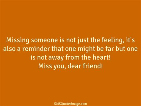 s day when you someone quote missing someone is not just missing you sms quotes image