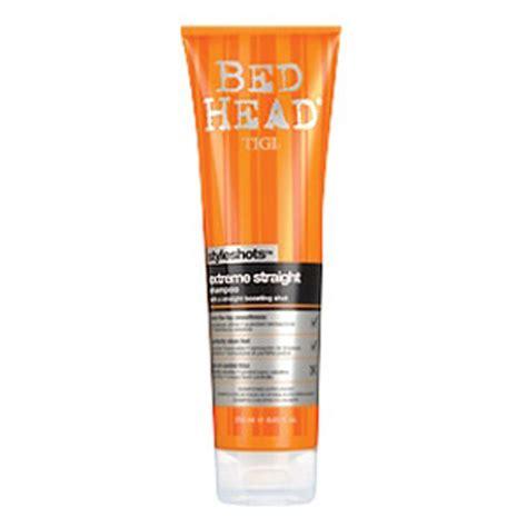tigi bed head products tigi bed head styleshots extreme straight shoo 250ml