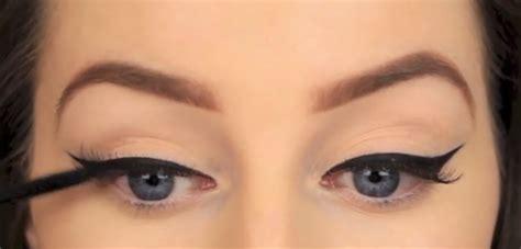 perfect winged eyeliner tutorial youtube eye makeup how to draw the perfect winged eyeliner