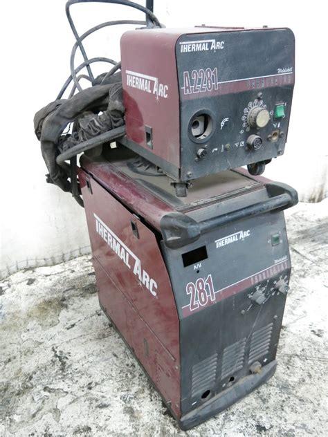 Fabricator Welder by Thermal Arc Fabricator 281 Welder 300 Amp 02171130002 Ebay