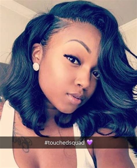 pictures of short partial sew in for black women best 20 short sew in hairstyles ideas on pinterest