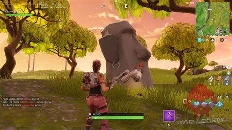 guide fortnite battle royale saison  semaine  les