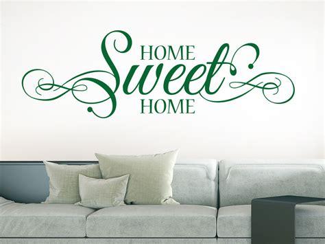 Farben Im Wohnzimmer 3018 by Wandtattoo Home Sweet Home Schn 246 Rkel Klebeheld 174 De