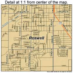 map of roswell roswell new mexico map 3564930