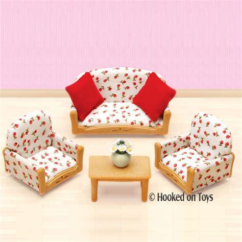 calico critters livingroom suite furniture set cc2922 ebay