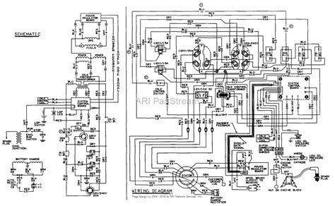 portable generator wiring diagram carburetor brushless