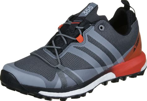 Sepatu Adidas Terrex 40 44 adidas terrex agravic gtx trail running shoes grey orange