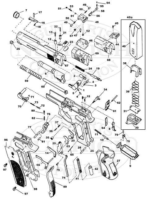 s w shield parts diagram sw mp 9mm diagram wiring diagrams repair wiring scheme