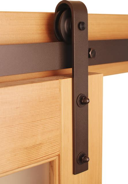 Interior Barn Door Hardware Kit by Classic Barn Door Hardware Kit Traditional Barn Door Hardware By Real Sliding Hardware