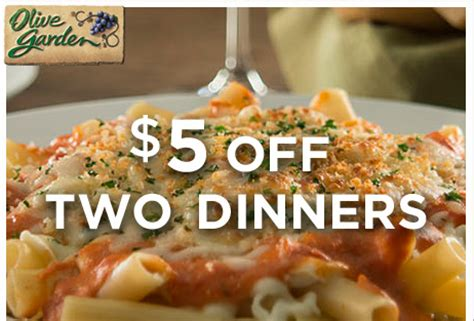 Olive Garden Thanksgiving by Olive Garden Coupon 5 Two Dinner Entrees Money Saving 174