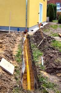 drainage garten lehmboden rigole rigolen zur gartenentw 228 sserung haushaltstipps