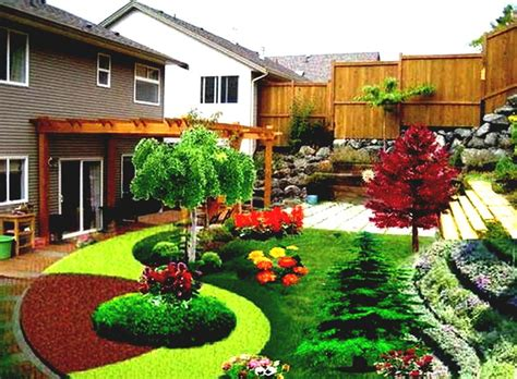 Backyard Ideas by Cool Backyard Landscaping Design Ideas For With Playground Area Homelk