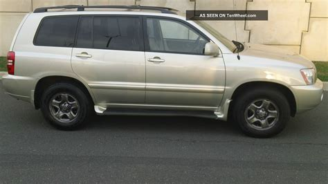 how to fix cars 2002 toyota highlander auto manual 2002 toyota highlander pictures information and specs auto database com