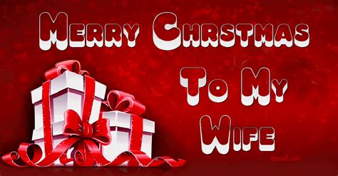 merry christmas   wife