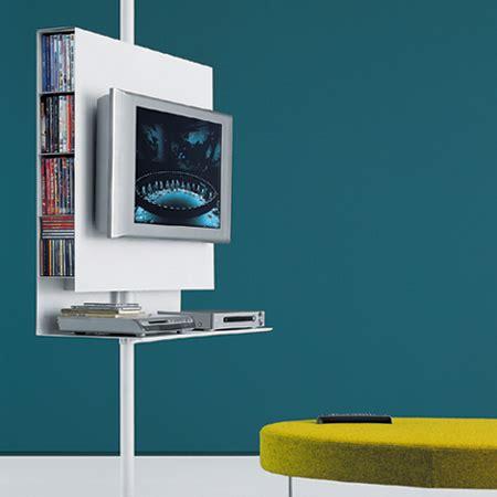mobile per dvd sail mobile tv e porta dvd in un sistema girevole arredica