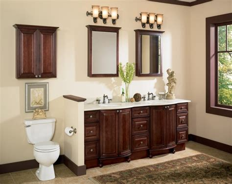 country style bathroom cabinets double sink with framed