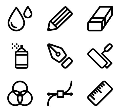 doodle drawings images pencil icons 4 406 free vector icons