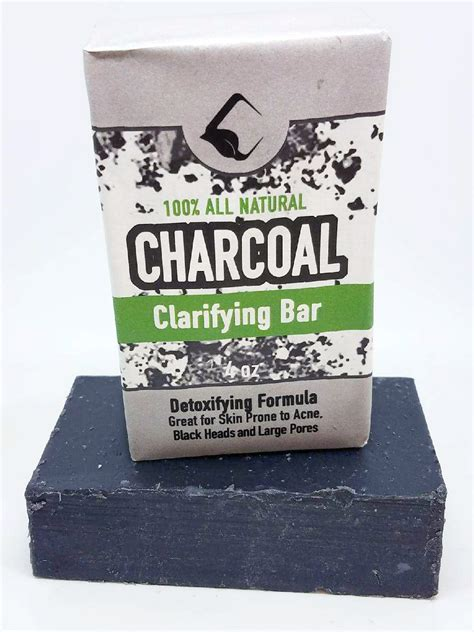 Charcoal Detox Soap by Charcoal Detox Bar Soap 4oz Amish Country Soap Co