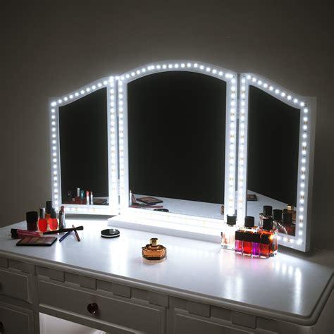 amazoncom houseables trifold vanity mirror