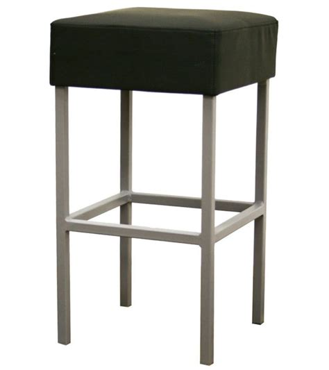 Black Leather Counter Height Stools by Andante Faux Leather Counter Stool Black In Counter