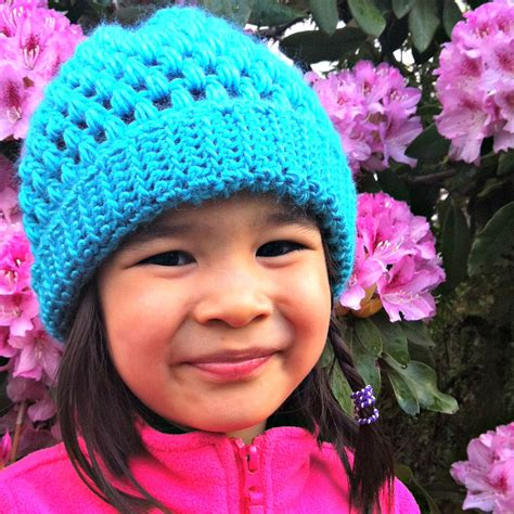 hats for children sew creative crocheted slouch hat pattern great for