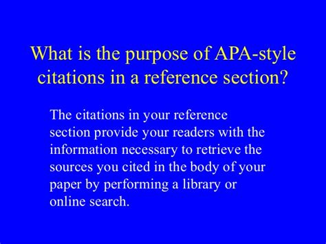 reference section apa format reference section apa 28 images using apa format apa