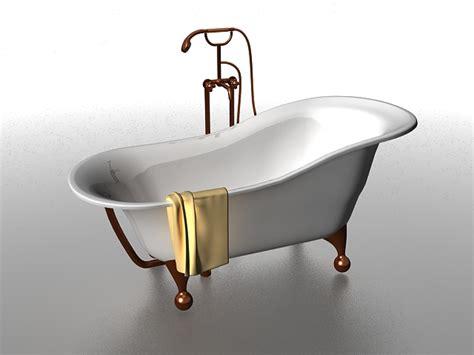 Bathtub Models by Claw Foot Tub 3d Model 3ds Max Files Free